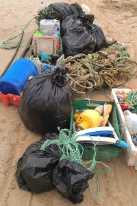 The usual suspects - fishing crates, line, nets and rope